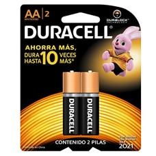 Pilha Duracell Peq(AA)c/2 - Ref.Duracell