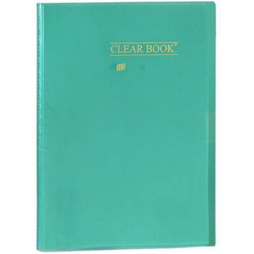 Pasta Catalogo Yes Clear Book(VD)c/10 - Ref.BD10S Yes