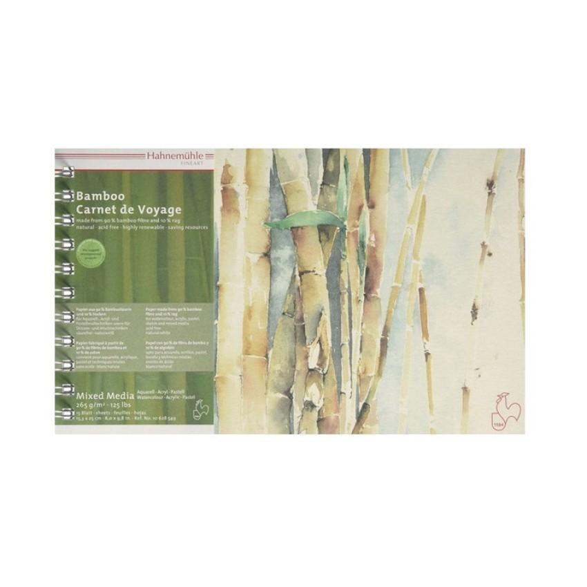 Blc.Esp Aquarela Bamboo A5/265g Hahnemuhle(15Fls)Unid - Ref.(10628380)64244 Codime