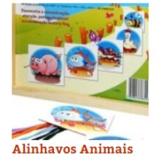 Alinhavos Animais(c/6Pçs)Unid - Ref.1137 Editora Fundamental
