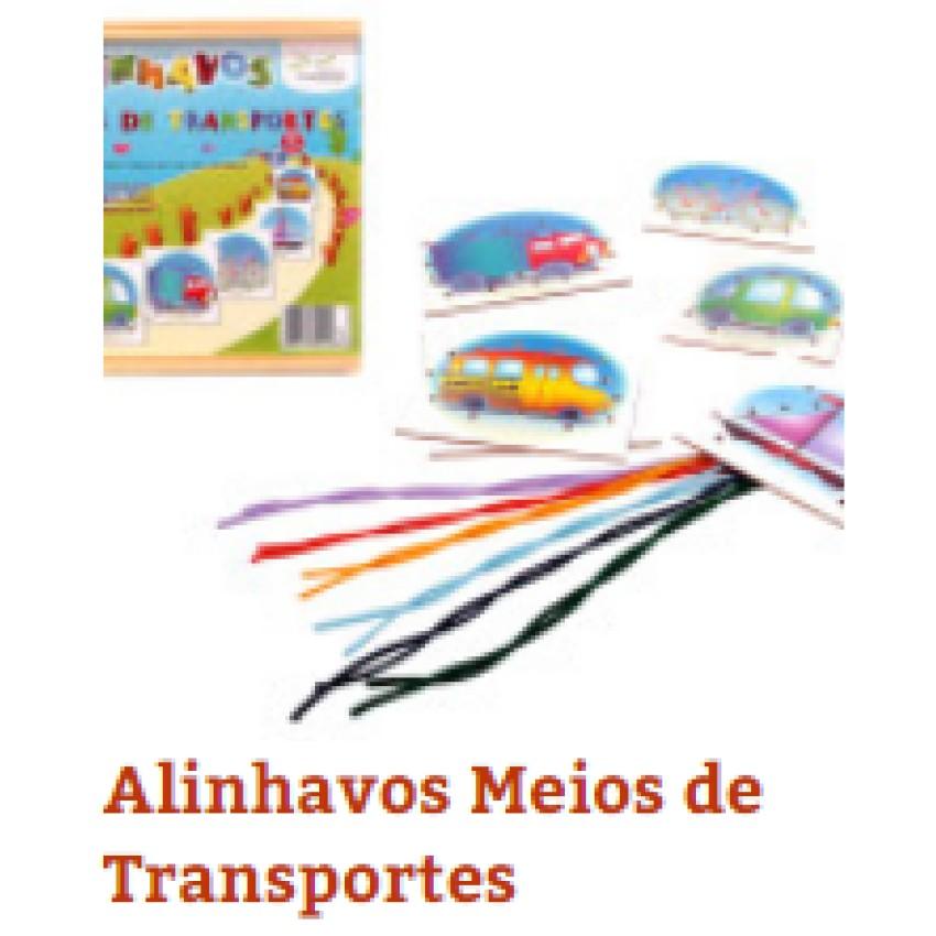 Alinhavos Meios de Transportes(c/6Pçs)Unid - Ref.1138 Editora Fundamental