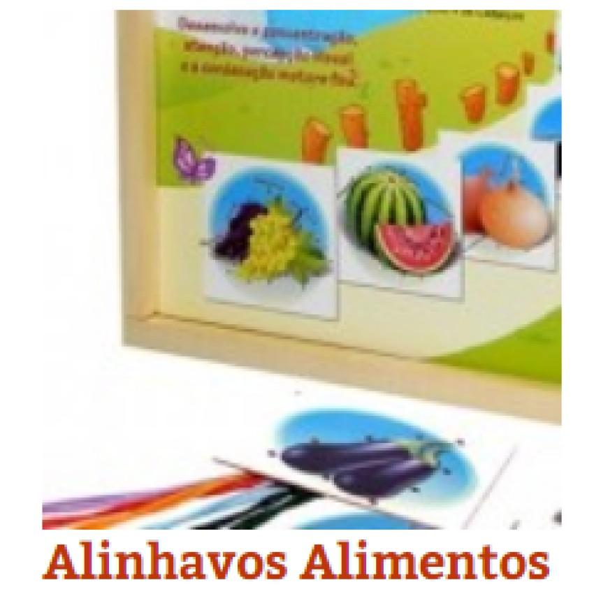 Alinhavos Alimentos(c/6Pçs)Unid - Ref.1139 Editora Fundamental